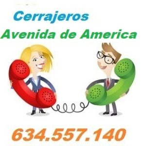 Telefono de la empresa cerrajeros Avenida de America